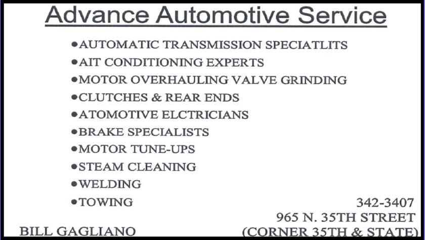 Advanced Automotive Service