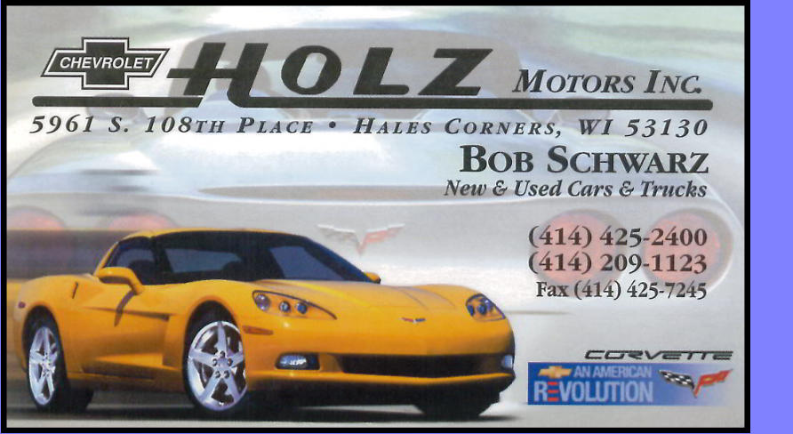Holz Motors, Inc.